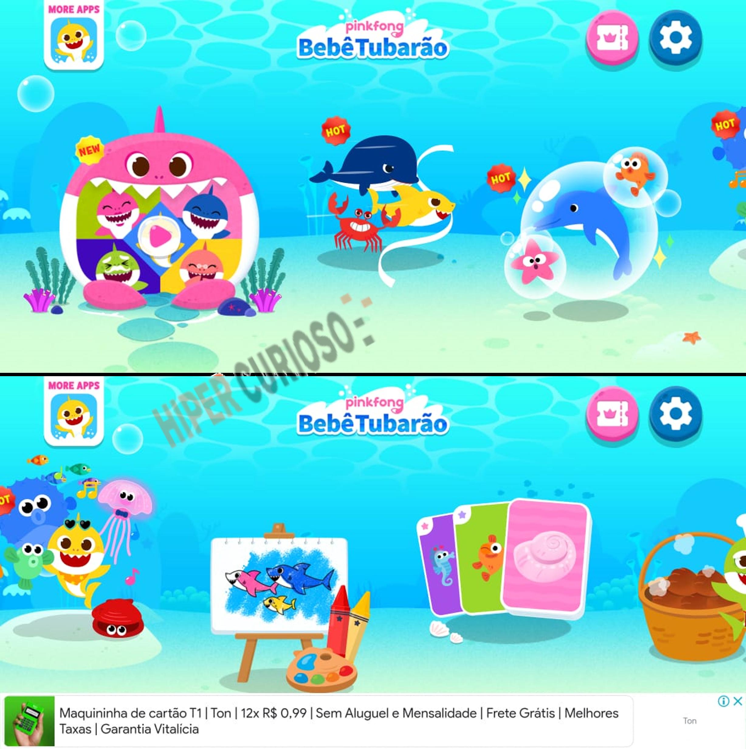 Pinkfong Bebê Tubarão
